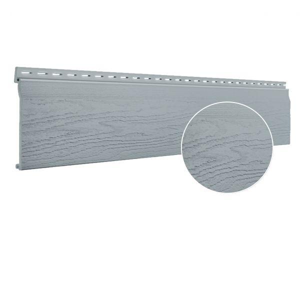 Visuel Bardage PVC cellulaire Vinytop 167 x 18 mm Gris 6 ml