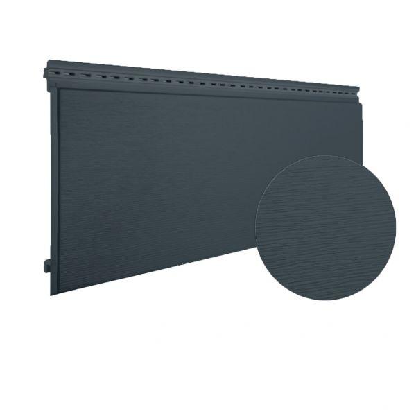 Visuel Bardage PVC cellulaire Multipaneel finition bois 250 x 18 mm Gris basalt 2.4 ml