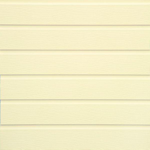 Visuel Pièce de jonction ivoire clair pour bardage PVC cellulaire VINYTOP 167 mm