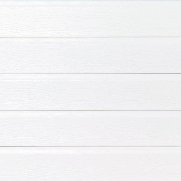 Visuel Pièce de jonction blanche pour bardage PVC cellulaire VINYTOP 167 mm
