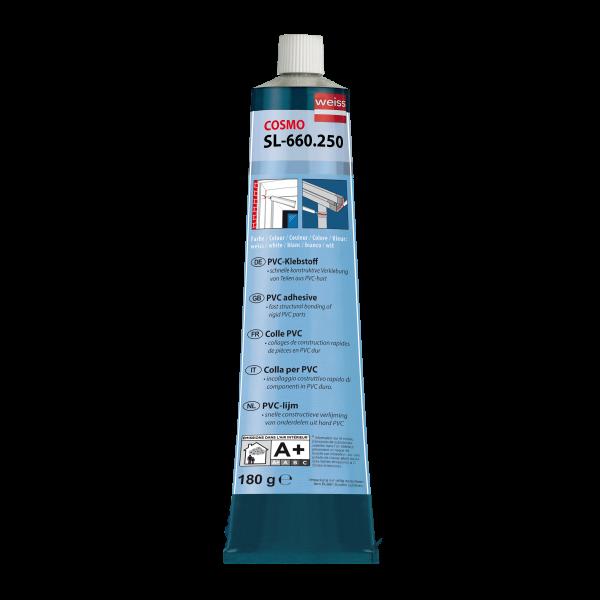 Visuel Colle blanche pour le collage de pièces en PVC rigide blanc - soudage à froid 200 ml