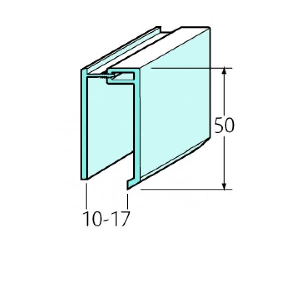 Visuel U Clipsable Bardexel® Lisse Blanc
