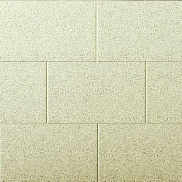 Visuel  Bardage PVC cellulaire Multipaneel finition enduit 250 x 18 mm Crème 2.4 ml