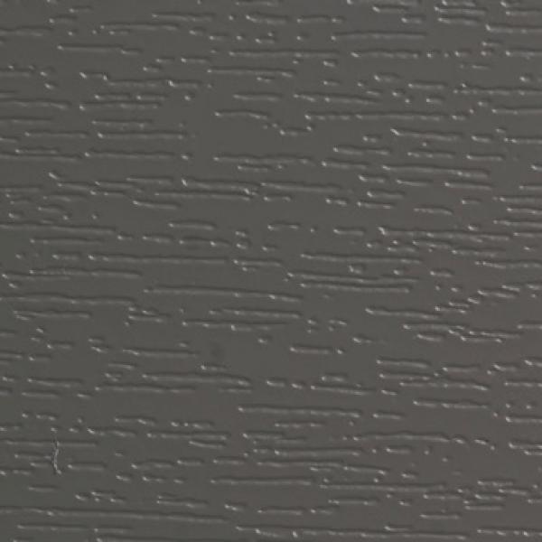 Visuel Bardage PVC Alvéolaire Vinyplus® Rond Aspect Bois Gris quartz - 4 x 6 ml
