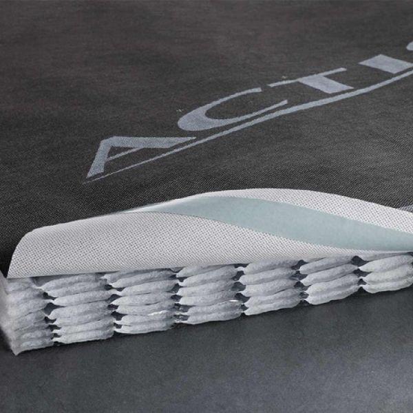 Visuel Isolant réflecteur alvéolaire avec écran HPV intégré 65mm- 1 rouleau = 16m² surface totale