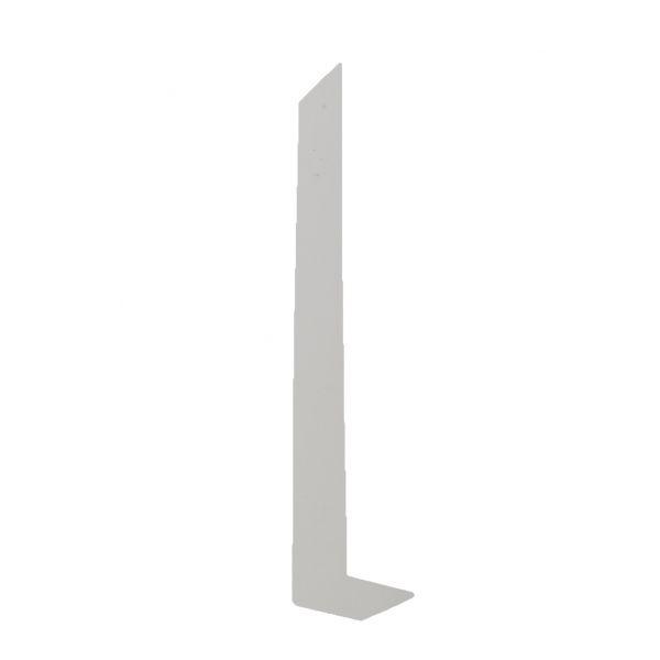 Visuel Jonction blanche 300 x 40 mm pour planche de rive en L 9 mm