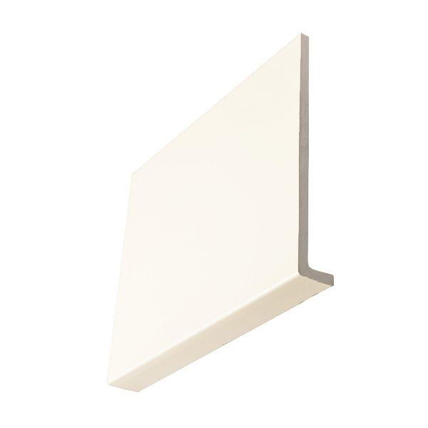 Visuel Planche de rive cellulaire en L 100 x 9 mm retour 36 mm Blanc