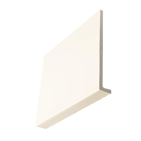 Visuel Planche de rive cellulaire en L 125 x 9 mm retour 36 mm Blanc