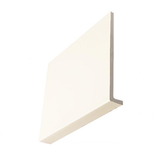 Visuel Planche de rive cellulaire en L 200 x 9 mm retour 36 mm Blanc