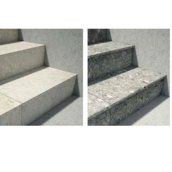 Visuel  Dalle céramique Unico Stones 33 x 60 cm Chambrod - double usinage : arrondi et angle droit