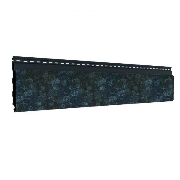 Visuel Bardage alvéolaire faux claire-voie Vinyplus Shadow® Ardoise - 150 x 18 mm