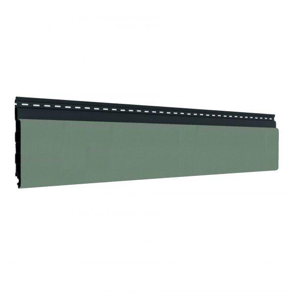Visuel Bardage alvéolaire faux claire-voie Vinyplus Shadow® Alux gris aluminium - 150 x 18 mm
