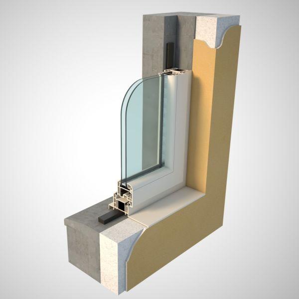 Visuel  Ruban pré-comprimé largeur 20 mm fente de 4-7 mm noir