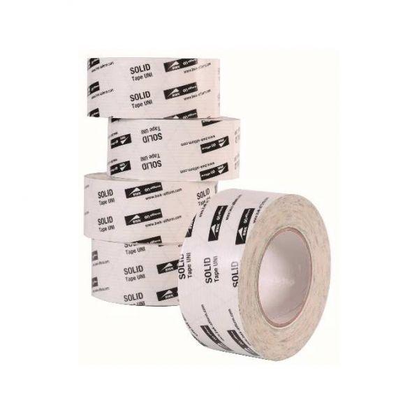 Visuel Adhésif souple et étirable simple face blanc 100 mm (ruban d'étanchéité)