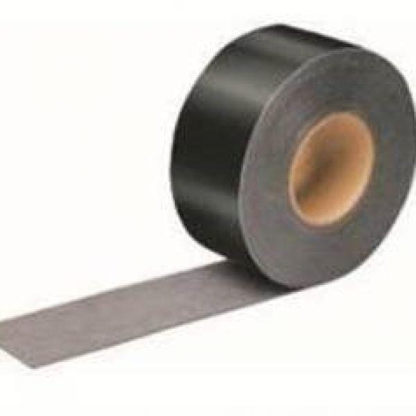 Visuel Adhésif noir thermo Tape façade Plus pour bardage ajouré