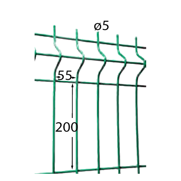 Visuel Panneau Hercules H. 1.93 x L. 2.5 m Gris 7016