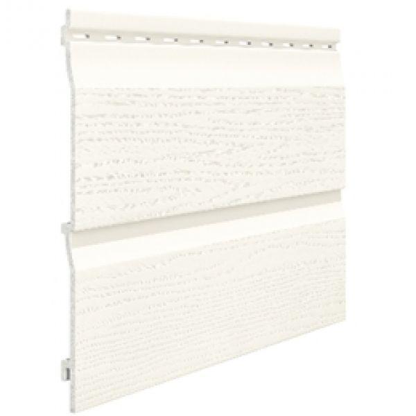 Visuel Bardage PVC Cellulaire Kerrafront® FS202 Blanc 3 ml