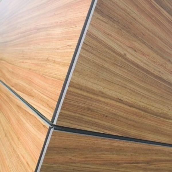 Visuel Panneau MEG HPL extérieur 3050 x 1300 x 8 mm 1 face Grigio graphite