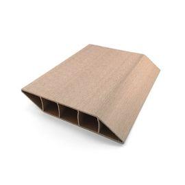 Lame Brise Vue PVC Zumaclos® 135 x 30 x 1500 mm Blanc
