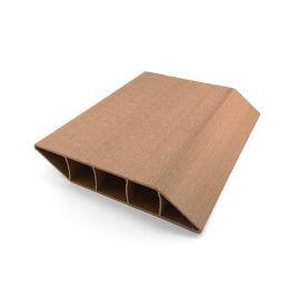 Lame Brise Vue PVC Zumaclos® 135 x 30 x 1500 mm Chêne doré