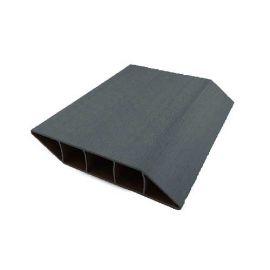 Lame Brise Vue PVC Zumaclos® 135 x 30 x 1500 mm Gris anthracite