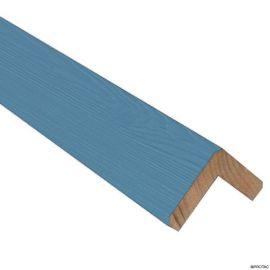 Cornière d'angle Clinexel® 62 x 62 mm Épicéa Azur