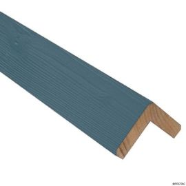 Cornière d'angle Clinexel® 62 x 62 mm Épicéa Lagon