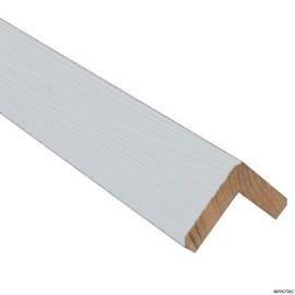 Cornière d'angle Clinexel® 62 x 62 mm Épicéa Lumière