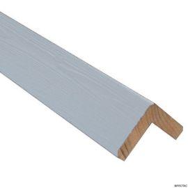 Cornière d'angle Clinexel® 62 x 62 mm Épicéa Minéral
