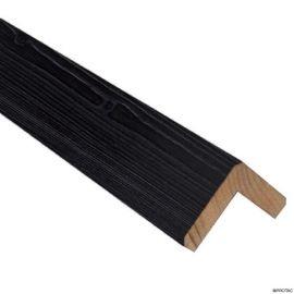 Cornière d'angle Clinexel® 68 x 68 mm Épicéa Carbon