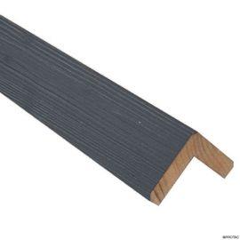 Cornière d'angle Clinexel® 68 x 68 mm Épicéa Graphite