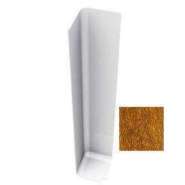Angle Extérieur pour Planche de Rive en L 300 mm Chêne doré