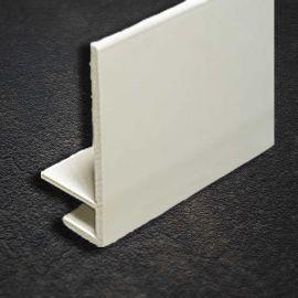 Profil d'Angle en U Blanc