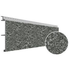 Bardage PVC Cellulaire Vinytherm® avec chanfrein Aspect Crépi Basalt - 12 x 3 ml
