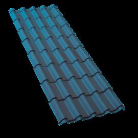 Plaque de couverture Francia® Bleu ardoise