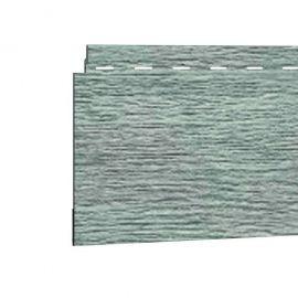 Bardage PVC Cellulaire Kerrafront® FS201 Wood design Connex Gris argenté 2.95 ml