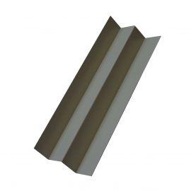 Profil d'angle int en Alu Laqué Bleu acier