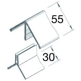 Angle Sortant 2 parties Vinyplus® Pin de montagne