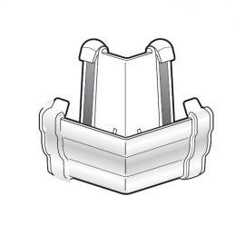 Angle Variable pour Gouttière Niagara® Blanc