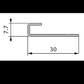 Profil de Départ Alu 70 x 30 mm