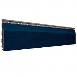 Bardage PVC Alvéolaire Vinyplus® Élégie Aspect Bois Bleu acier - 4 x 6 ml