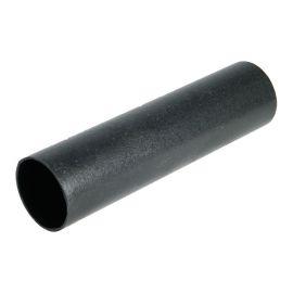 Tube de descente demi-rond 68 mm Longueur 2,5 ml Fonte