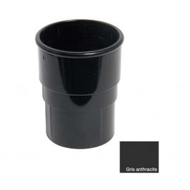 Manchon Rond 68 mm Anthracite