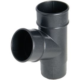 Connecteur 67,5° pour Tuyau 68 mm Fonte