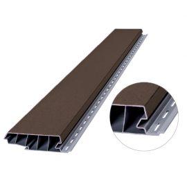Profilé de Recouvrement Vinyplus® 120 mm Anteak grey