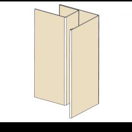 Angle ext Alu RAL 1015