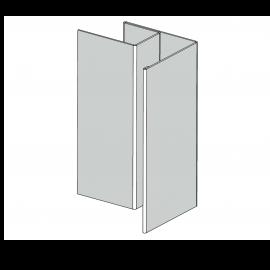 Angle ext Alu RAL 7035