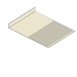 Tôle départ Alu Ventilée Packeasy® prof. 181 mm RAL 1013