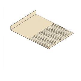 Tôle départ Alu Ventilée Packeasy® prof. 181 mm RAL 1015