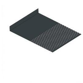 Tôle départ Alu Ventilée Packeasy® prof. 181 mm RAL 7016